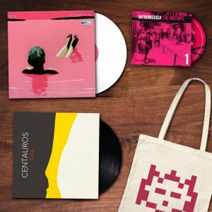 Tulsa - pack de oferta con La calma chicha, Centauros, el recopilatorio The Mixtape y una bolsa de Intromúsica de regalo