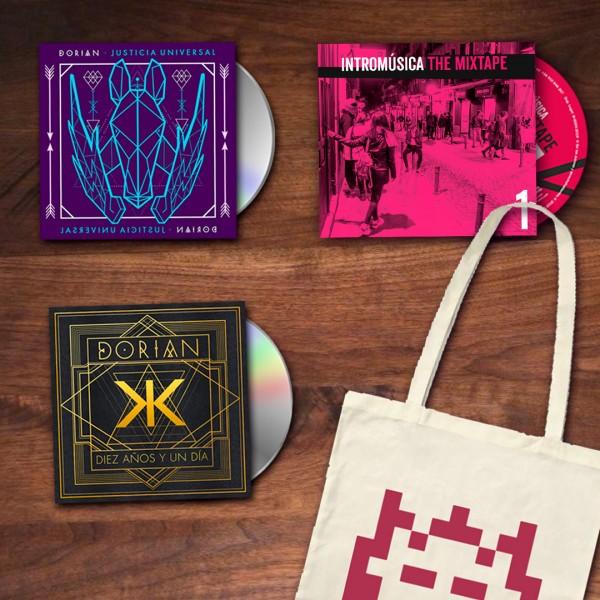 Dorian: Justicia universal + Diez años y un día en CD en oferta