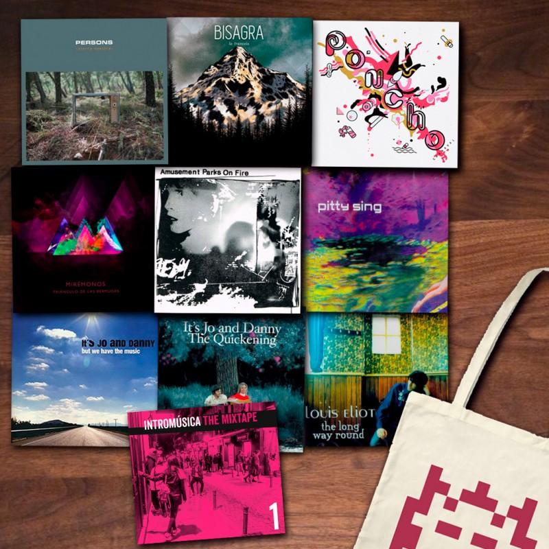 PACK - LIQUIDACIÓN de los primeros CD´s lanzados por Intromúsica Records