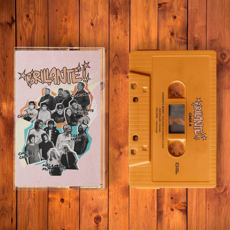Cassette Brillante! ✨Con: Chef Creador, Chloral, Cora Yako, Cuchillas, Diamante Negro y Malamute
